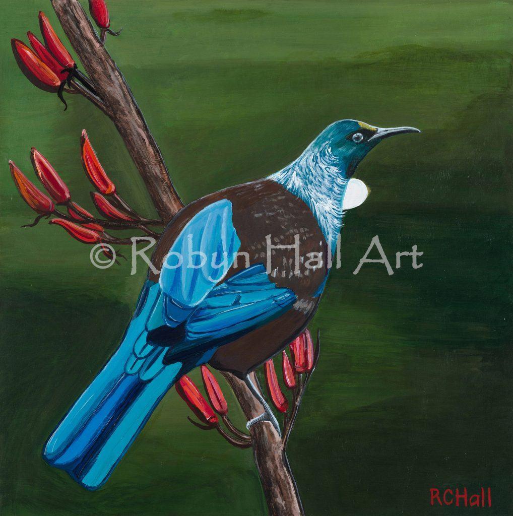 Tui - Acrylic Painting